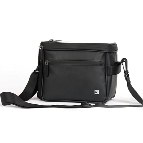 4.5L Bike Handlebar Cooler Bag with Touchscreen Phone Case Rain Cover for Cycling Daily Use Image