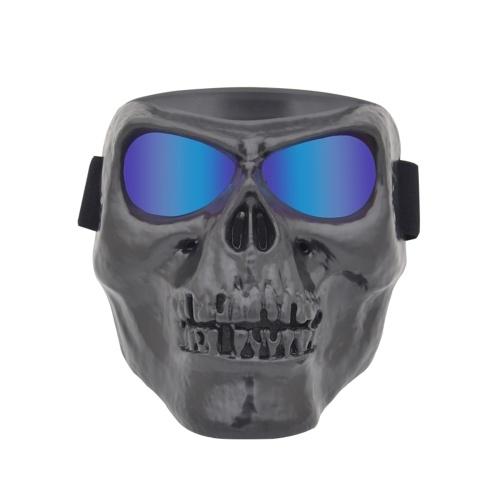 Motorradschutzbrillen-Helm-Maske