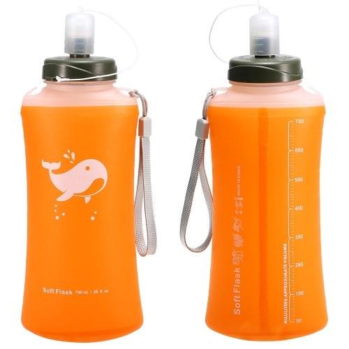 Outdoor Camping Wandern faltbare Wasserflasche