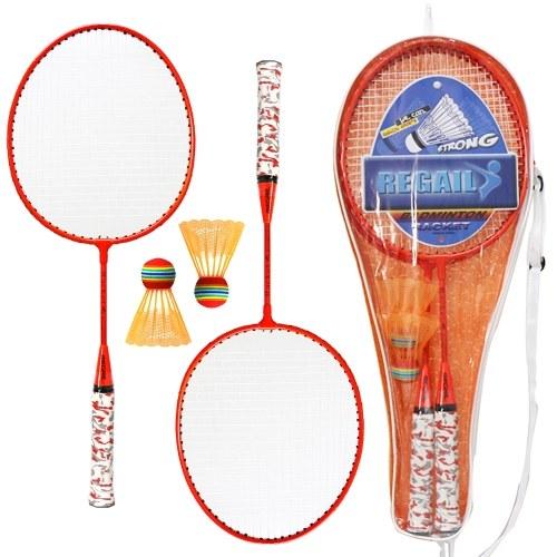 1 пара ракеток для бадминтона с шариками Набор для бадминтона для 2 игроков для детей, крытая спортивная игра на открытом воздухе