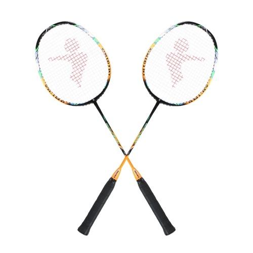 2 игрока бадминтон летучая мышь