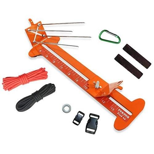 Metal Braided Frame Bracelets Weaver Parachute Cord Monkey Fist Knitting Frame DIY Parachute Cord Knitting Machine Paracord Tool Kit Paracord Jig