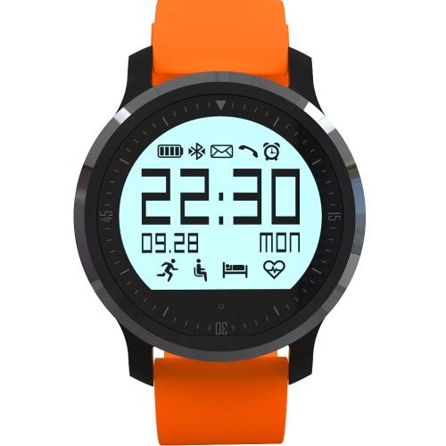Smart Watch Sport orologio contapassi frequenza cardiaca Tracker sonno Monitor BT 4.0 per Android 4.3 per IOS 8 Smartphone