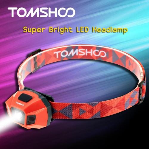 TOMSHOO супер яркие светодиодные фары высокой мощности фонарика воды сопротивления USB кабель аккумуляторные фары лампа для велосипеде кемпинг, альпинизм другие мероприятия на свежем воздухе