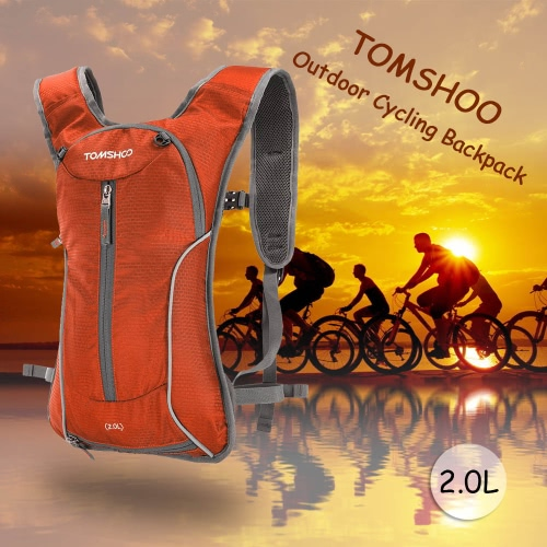 TOMSHOO Outdoor Cycling Bike Bicycle Running Riding Travel Hiking Backpack