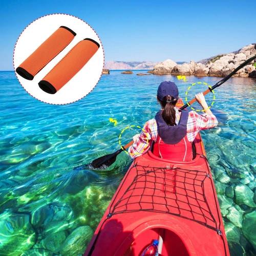 2pcs neopreno Kayak Paddle apretones suave y antideslizante protegen paleta eje prevenir ampollas y callos