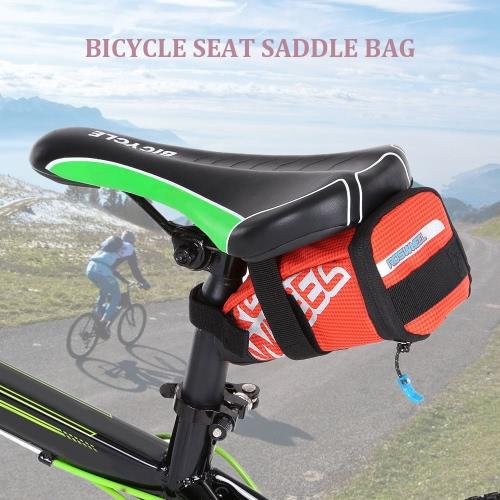 Sede della sella della bicicletta del sacchetto della sella della bici del sacchetto di riciclaggio esterno della sede del sacchetto della coda Bag