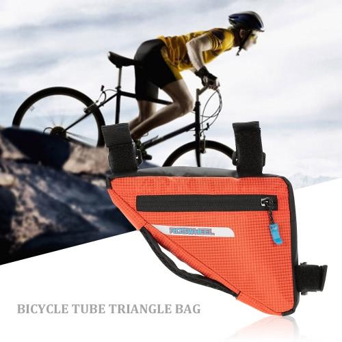 Tubo de ciclo al aire libre para bicicleta bolso de la bicicleta bolsa de triángulo delantero de una silla bolsa Frame