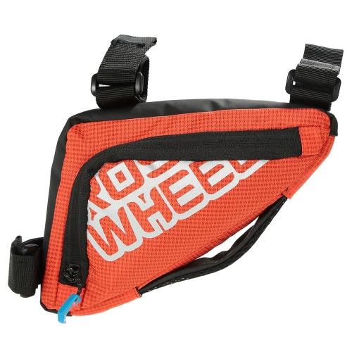 Труба Открытый Велоспорт велосипед мешок велосипеда Треугольник сумка Передняя рамка Седло мешок