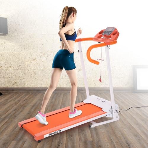 TOMSHOO 500W Motorized Folding Electric Treadmill