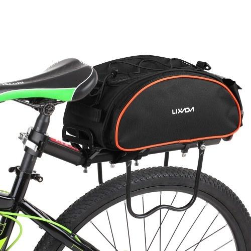 Lixada 13L Multifunctional Bicycle Rear Seat Bag Image