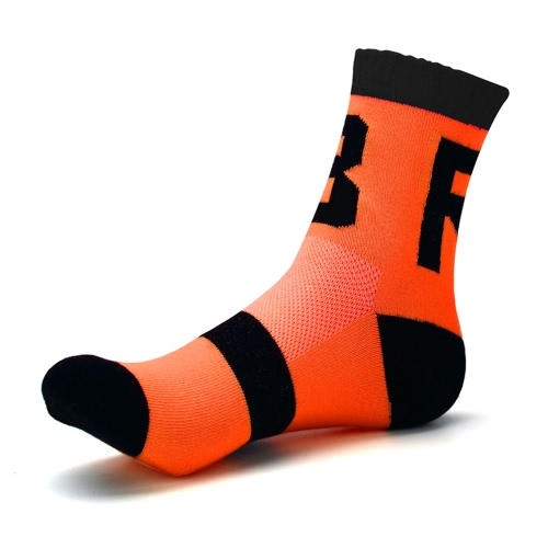 1 paio di resistente odore Wicking traspirante asciugatura rapida Sport calzini Ciclismo calzini anti-deformazione Calzini calzini
