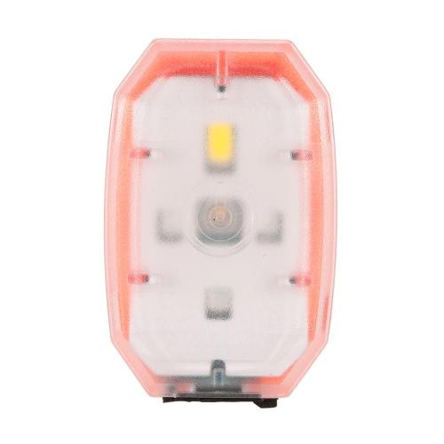 Portable USB Mini Compact Luce della bicicletta ricaricabile a LED luce anteriore della bicicletta Bike Cycling posteriore LED Fanale posteriore lampada fanale posteriore di sicurezza Spia