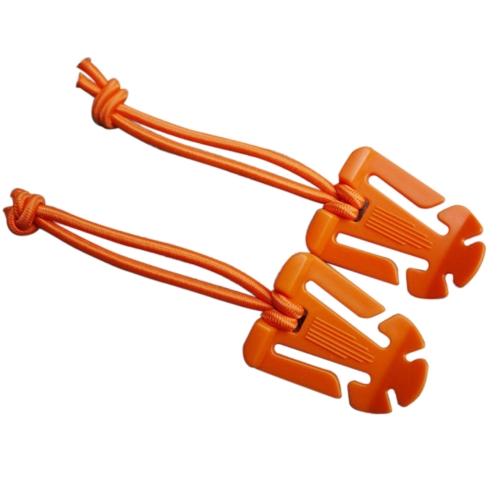 2 Unids Multiusos Tactical Dominator Cord Hang Hebilla Clip EDC Webbing Cable Almacenamiento Tidy Correa Hang Roll Wire Botón Fijo con Cadena Elástica