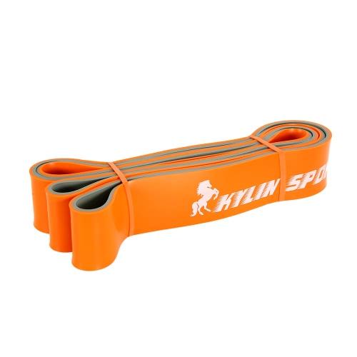 Latex tira in su la fascia di allenamento della fascia di stretching della banda della resistenza di forma fisica