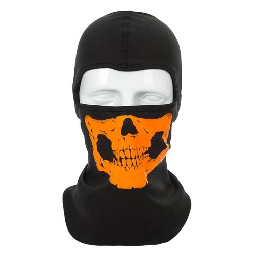 Máscara facial de hueso humano