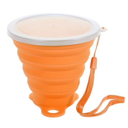 270ML Складной Stretchy Travel Water Cup