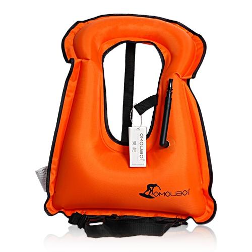 Giubbotto gonfiabile Giubbotto salvagente per lo snorkeling Dispositivo galleggiante Nuoto alla deriva Surf Sport acquatici Salvavita