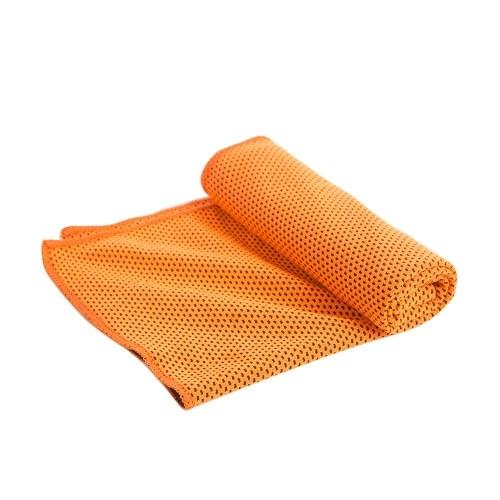 Tragbare wiederverwendbare Wärmeentlastung Instant Kühlung kalt Chill Sport gemütliche Handtuch für Jogging Radfahren Jogging Gym Geschenk Royal Blue