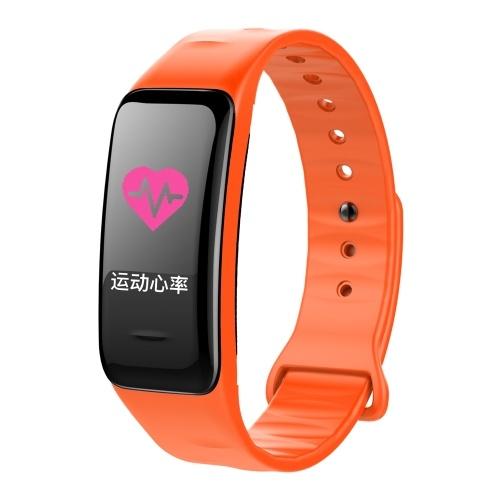 Colorful Screen Digital BT Smart Band Step Heart Rate Monitor Blood Pressure Intelligent Test Monitoring Wristband Waterproof Fitness Bracelet Sleep Tracker Watch Sports