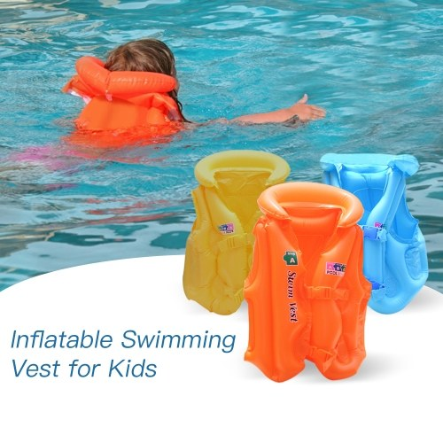 Kid Safety Float Inflatable Life Jacket