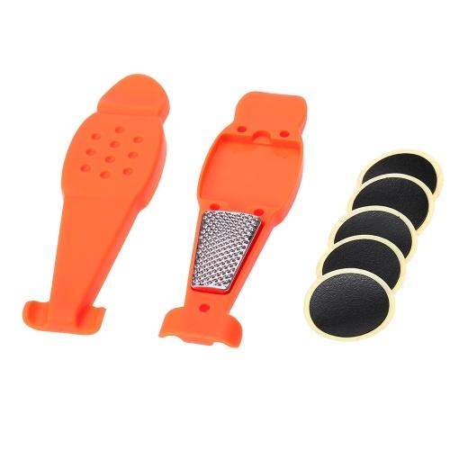3-em-1 ferramenta de remoção de pneu conjunto moto alavanca de pneu portátil
