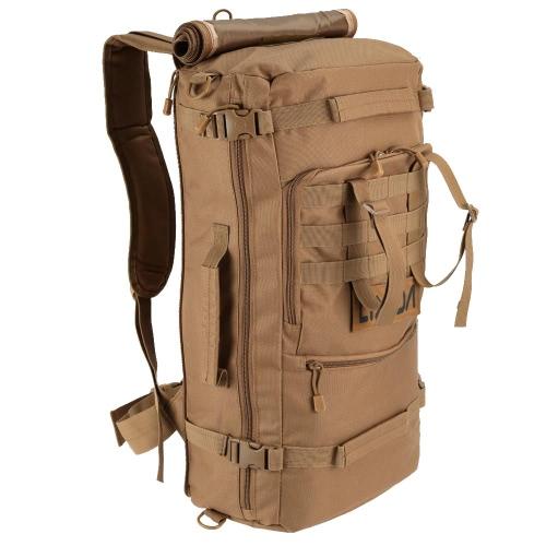 Lixada multifunzione all'aperto militare tattico zaino trekking Campeggio Trekking borsa a tracolla 45L