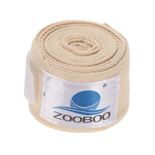ZOOBOO 100% cotone Boxing Muay Thai combattimento libero MMA Boxing Bendaggi Bende
