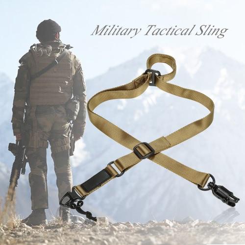 docooler軍事戦術安全2点屋外ベルトカービンスリング調節可能なストラップ