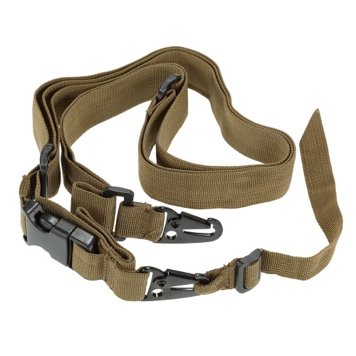 Docooler militar táctico de seguridad de tres puntos de la correa al aire libre de la carabina honda de la correa ajustable