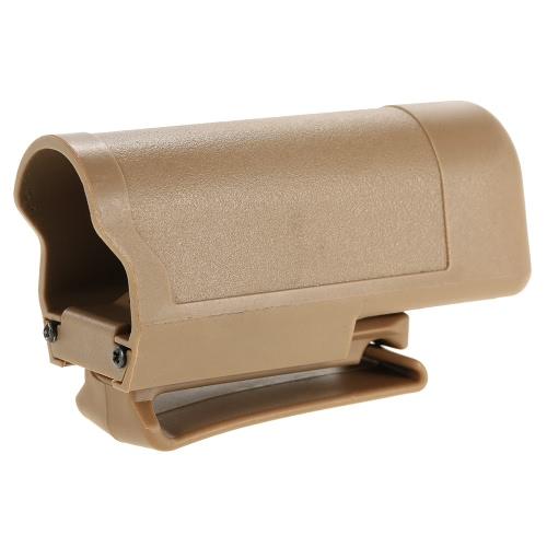 Táctica de liberación rápida linterna LED Clip Funda clip de la correa del sostenedor de la pistolera flash de luz de lámpara de la antorcha