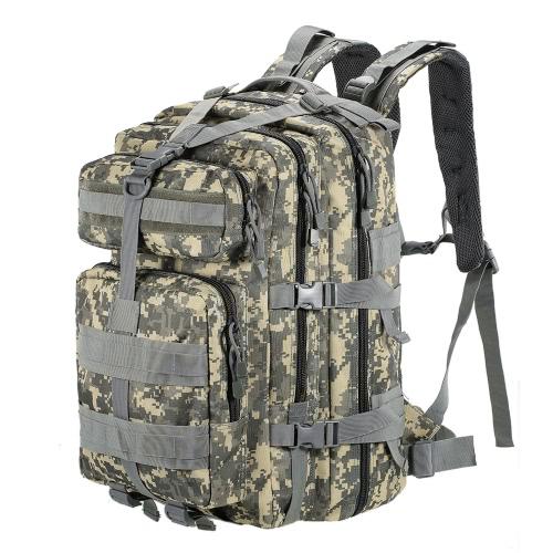 45L MOLLE Multifunktions-Militär-Rucksack Outdoor Tactical Rucksack Reise Camping Wandern Sporttasche