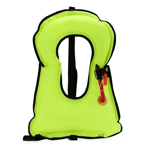 Inflatable Snorkel Vest Adult Life Jackets