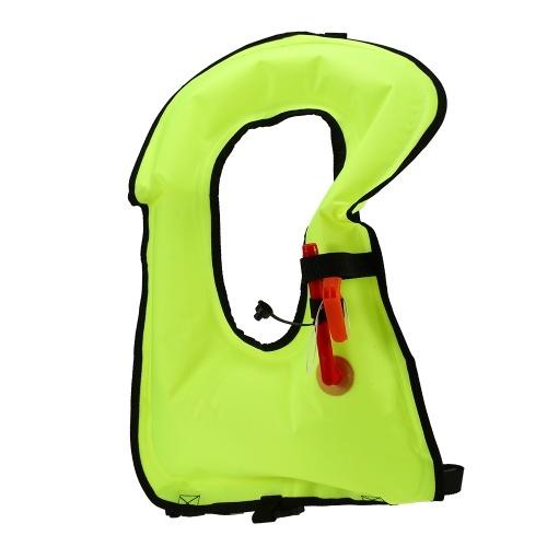 Lixada Chaleco salvavidas inflable chalecos salvavidas