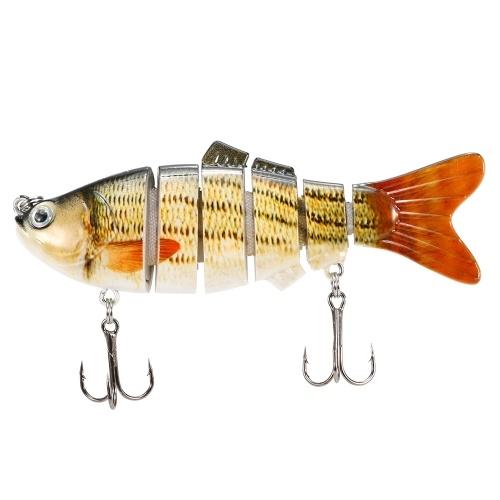 10cm / 20g Realistiche 6 sezioni congiunte Swimbait Fishing Lure