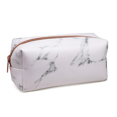 Marble Makeup Bag Portable Cosmetics Pouch