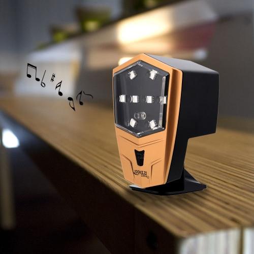 Outdoor Rainproof Smart Wireless BT Bicycle Speaker Tail Light Image