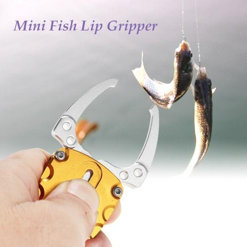 Docooler Mini Fish Lip Grip Grabber Gripper Fishing Lure Grip Grab Tools Kayak Tackle