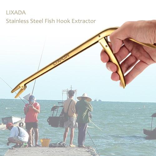 Lixada in acciaio inox Fish Hook Remover Extractor pesca accessori resistente alla corrosione Hook Removal Tool