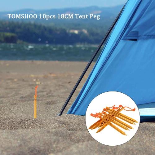 TOMSHOO 10pcs / lot 18 cm / 7
