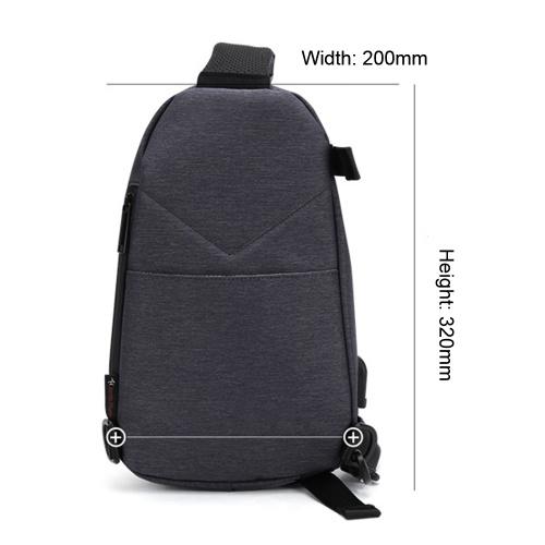 ARCTIC HUNTER Мода Спорт на открытом воздухе Путешествия Повседневная мужская сумка для груди