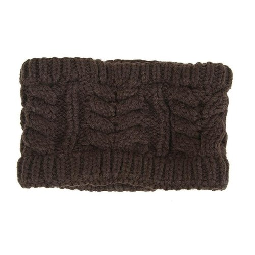 Women Fashion Knitted Headband Winter Warm Cap
