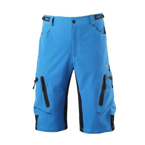 Pantaloni MTB in bicicletta da corsa bicicletta bicicletta MTB Pantaloni corti Pantaloni sportivi esterni casual all'aperto da ciclismo Poliammide con tasche con zip