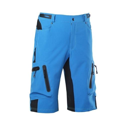 Lixada Baggy Shorts Cycling Bicycle Bike MTB Pants Shorts Breathable Loose Fit Casual Outdoor Cycling Running Clothes Polyamide with Zippered Pockets Image