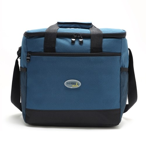 Lixada 16L Outdoor Insulated Bag Cooler Lunch Tote Thermal Bento Bag
