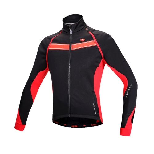Santic Cycling Clothing Bicycle Bike Coat Thermal Fleece Winter Cycling Jacket Breathable Windproof Removable Sleeve Cycling Vest