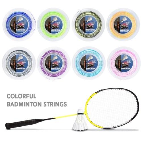 Image of 600FT 0-7mm Bicolor Badminton String Bunte Helle Indoor Outdoor Badminton Trainingsschläger String Elastische Ersatz Badminton String
