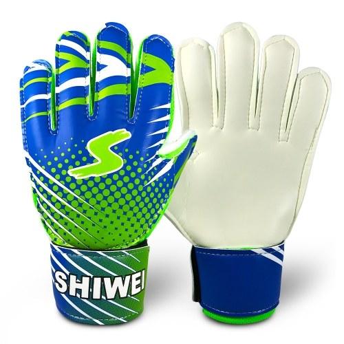 Teenager's Goalkeeper Gloves Latex Goalie Gloves
