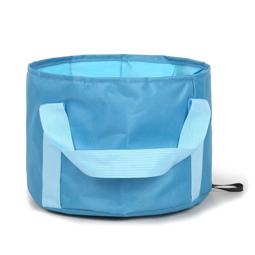 16L Collapsible Camping Bucket Portable Travel Folding Water Container Wash Basin