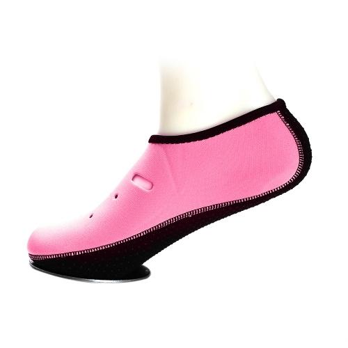 1 par antiderrapante sapatos de água chinelo de secagem rápida com os pés descalços meias de mergulho praia snorkeling natação meias de surf